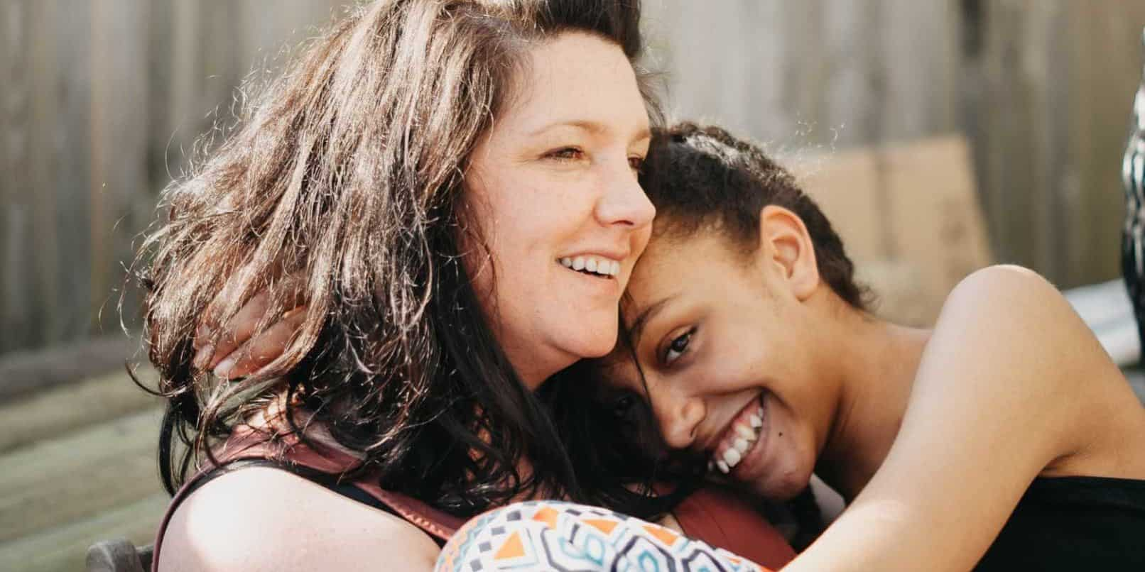 body image from moms to daughters