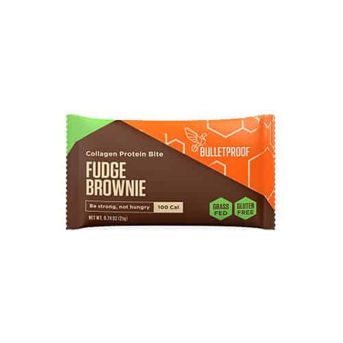 Bulletproof Fudge Brownie Collagen Protein Bite