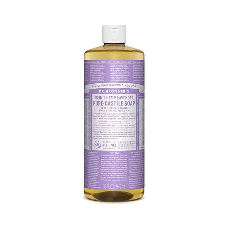 Dr. Bronner's Lavender Castile Soap (32 oz)