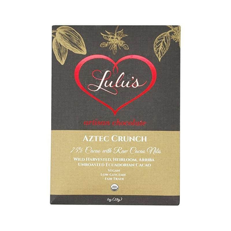 Lulu's Aztec Crunch Chocolate
