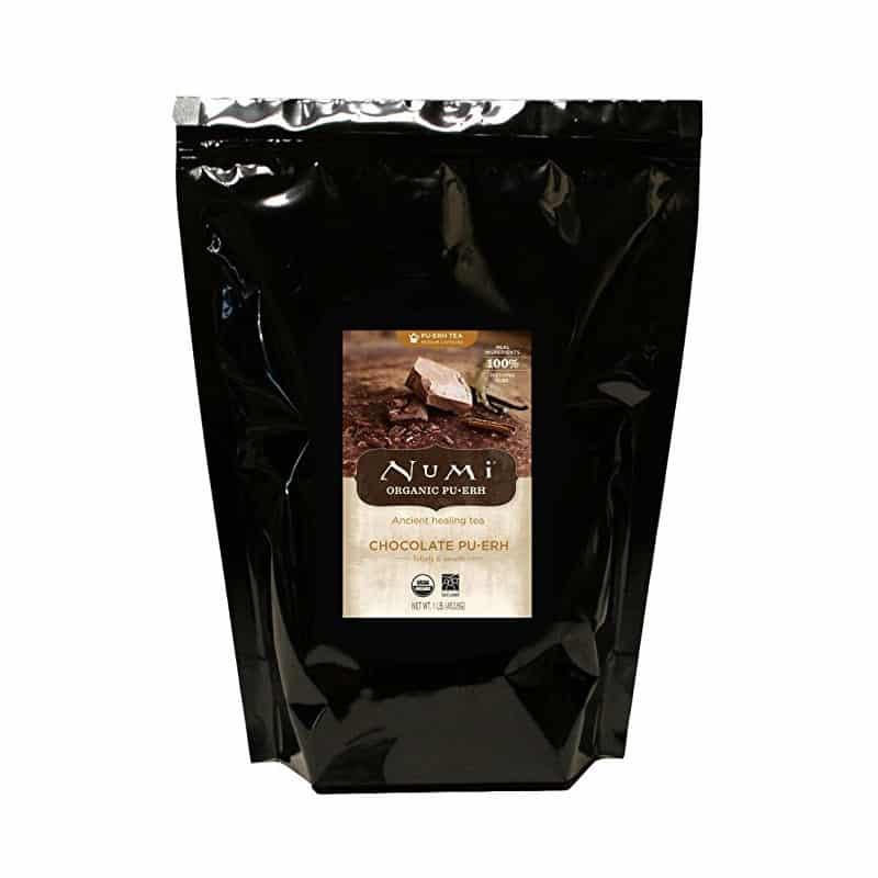 Numi Chocolate Pu-erh Tea, Loose Leaf (16 oz)