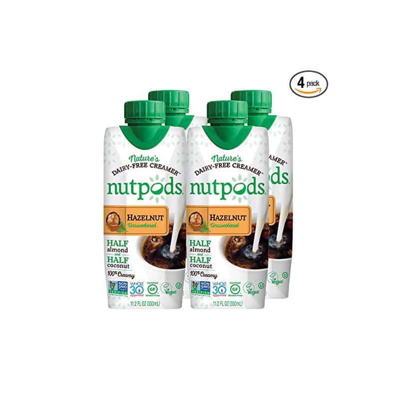 Nutpods Dairy-Free Creamer, Unsweetened Hazelnut