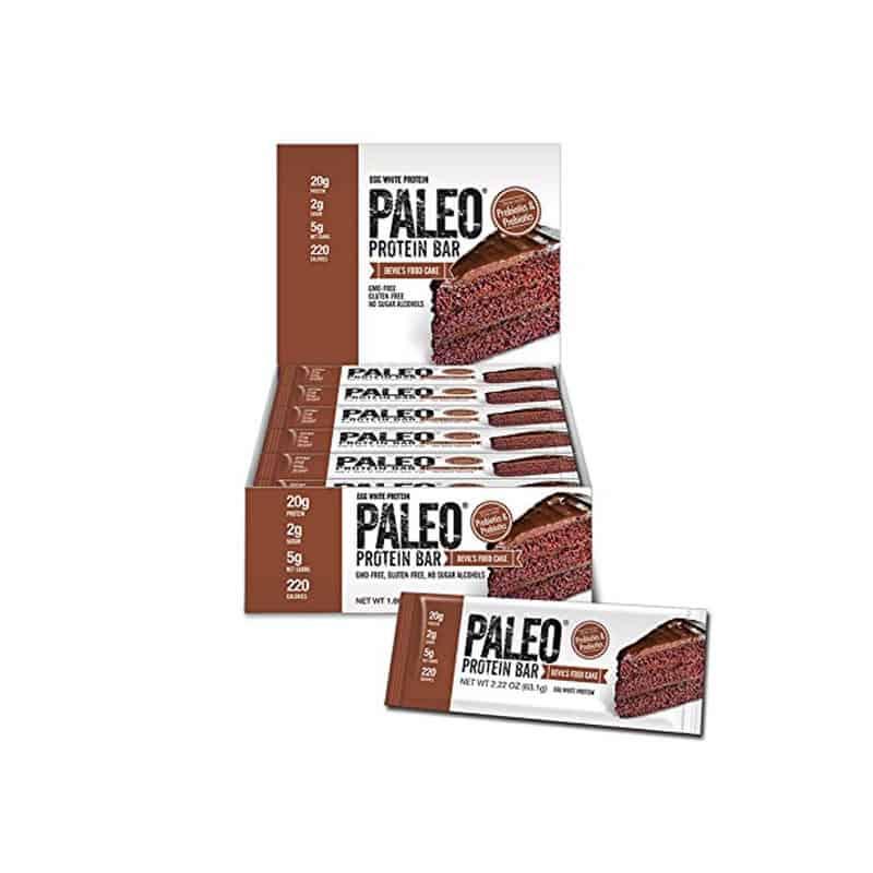Paleo Protein Bar, Devil's Food Cake (24 bars)