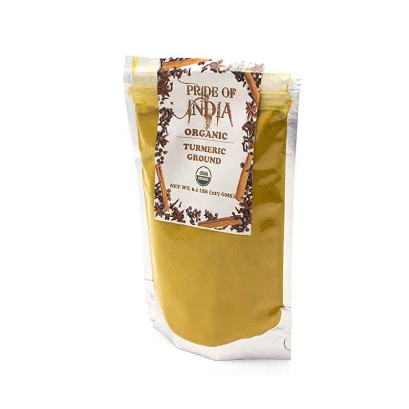 Pride of India Organic Turmeric (8 oz)