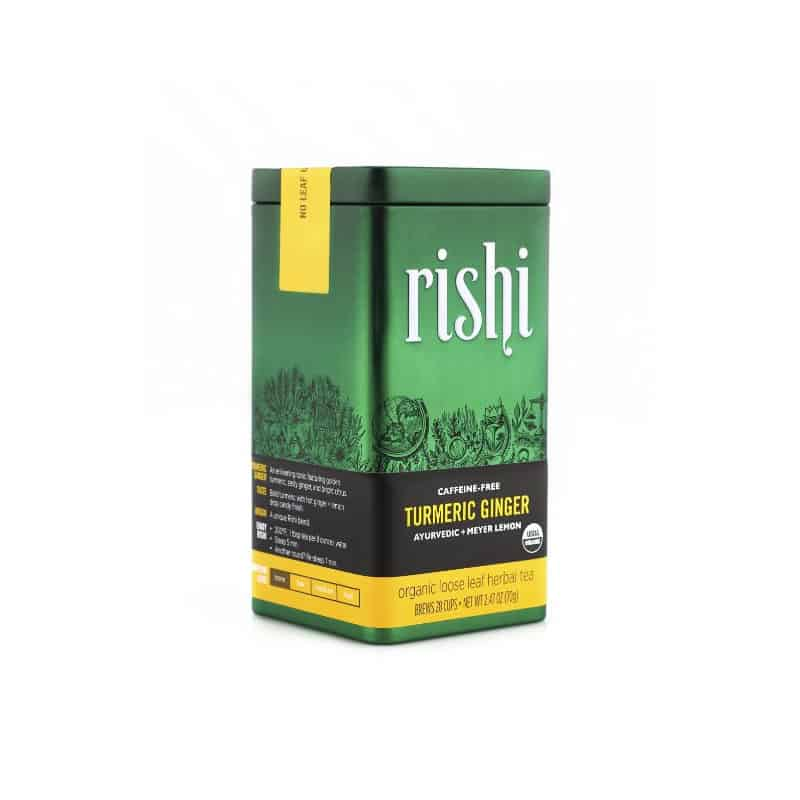 Rishi Turmeric Ginger Tea, Loose Leaf (2.47 oz)