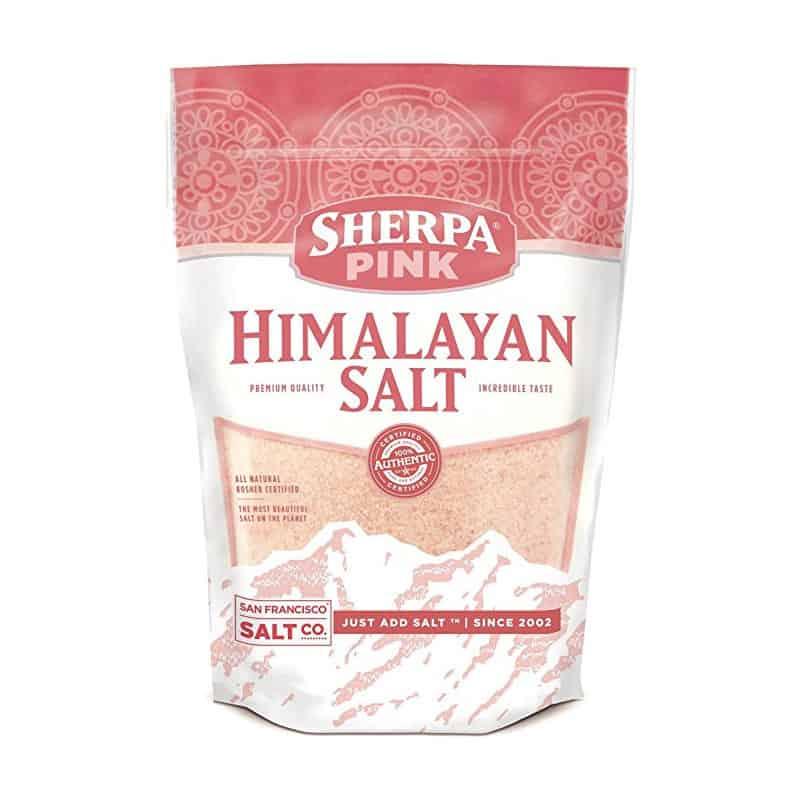 Sherpa Pink Gourmet Himalayan Sea Salt (5 pounds) $14.24