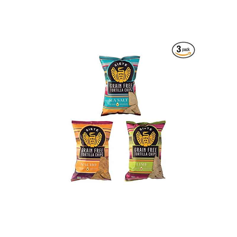Siete Grain-Free Tortilla Chips (3 pack)